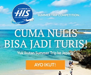 Ikuti Present Campaign HIS Summer Trip Blogging Competition
