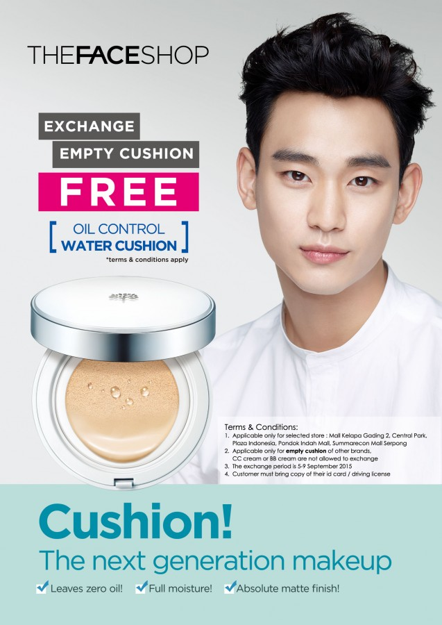 Cushion Exchange Promo