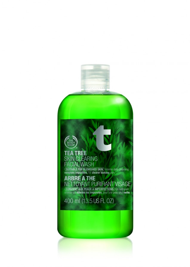 The Body Shop, Tea Tree Cleansing Wash 400ml