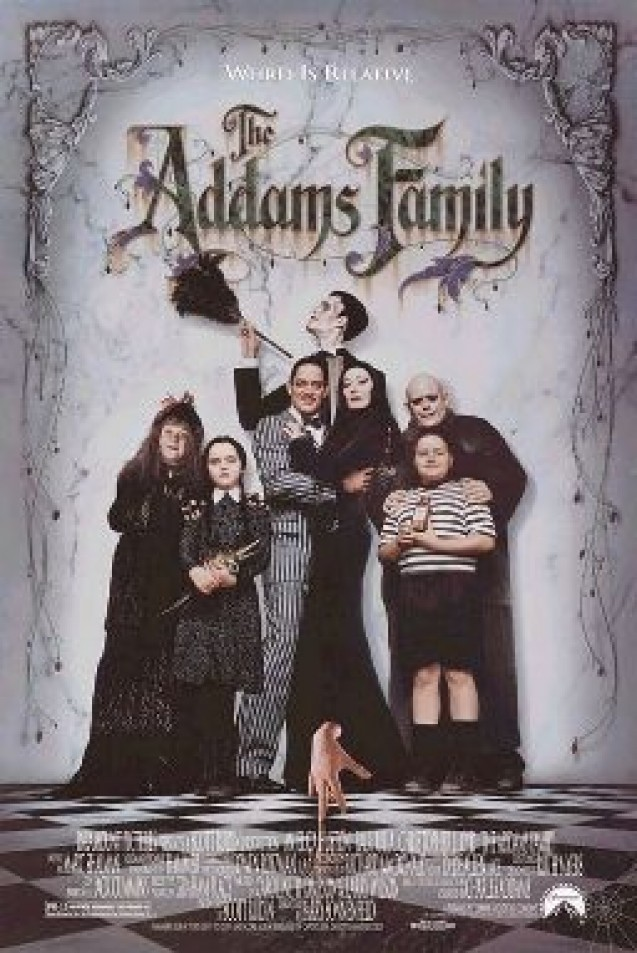 Rekomendasi FIlm Halloween - The Addams Family