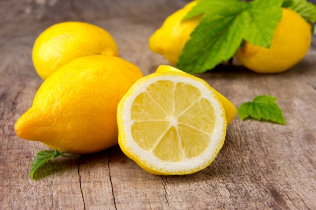 Lemon scrub