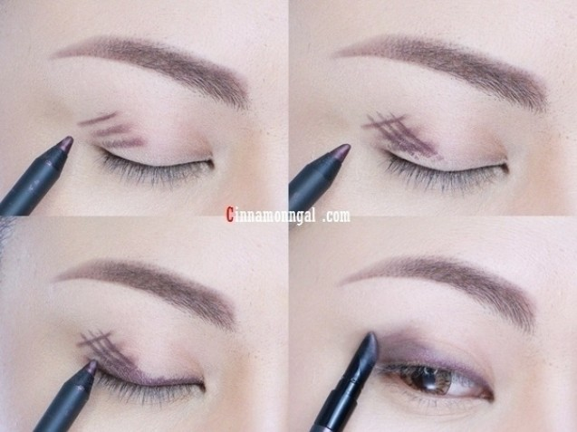 Trik smokey eyes