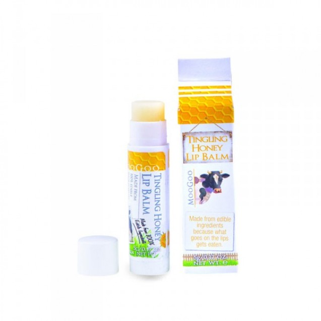 MooGoo Tingling Honey Lip Balm