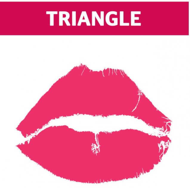 Triangle lips