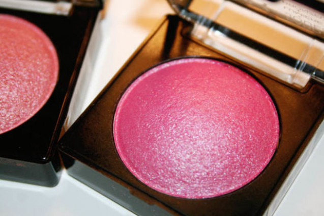Shade blush on