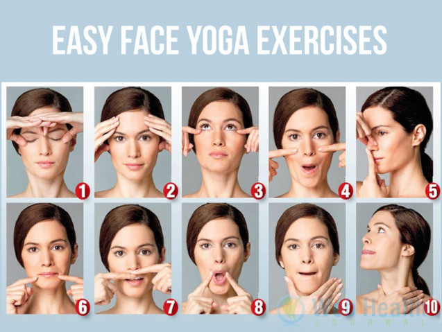 Facial stretching