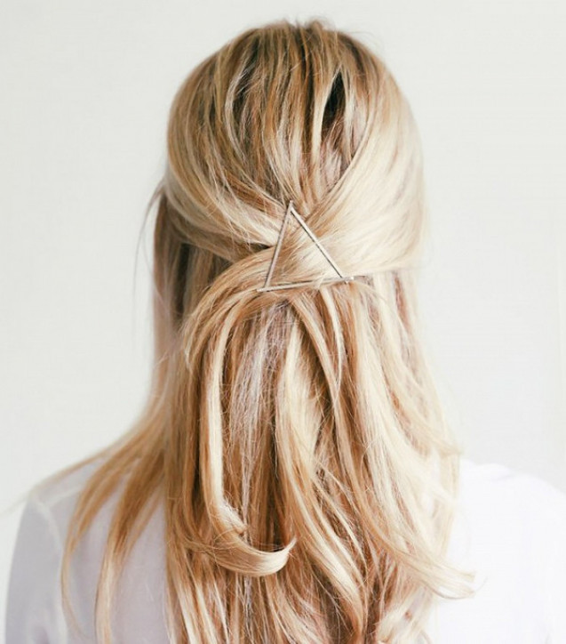 Bobby pin hairstyle